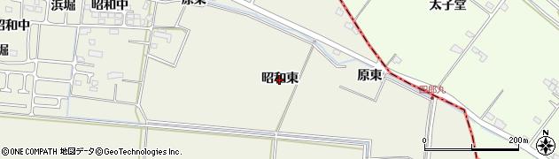 宮城県仙台市太白区四郎丸(昭和東)周辺の地図