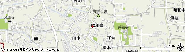 宮城県仙台市太白区四郎丸(昭和裏)周辺の地図