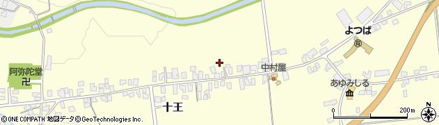 山形県西置賜郡白鷹町十王3740周辺の地図