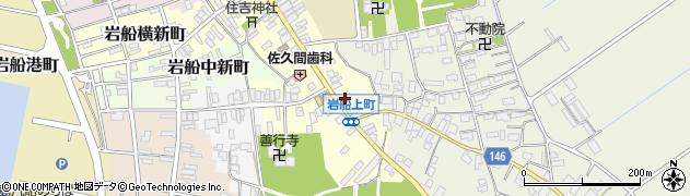 新潟県村上市岩船上町周辺の地図
