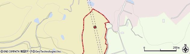 山形県上山市久保手久保手周辺の地図