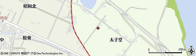 宮城県名取市閖上(太子堂)周辺の地図
