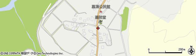 山形県西置賜郡白鷹町菖蒲962周辺の地図