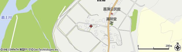山形県西置賜郡白鷹町菖蒲916周辺の地図