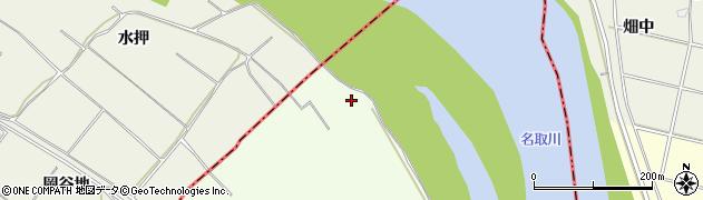 宮城県名取市閖上(川前下)周辺の地図