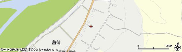 山形県西置賜郡白鷹町菖蒲1325周辺の地図