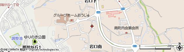 宮城県名取市高舘熊野堂(岩口南)周辺の地図
