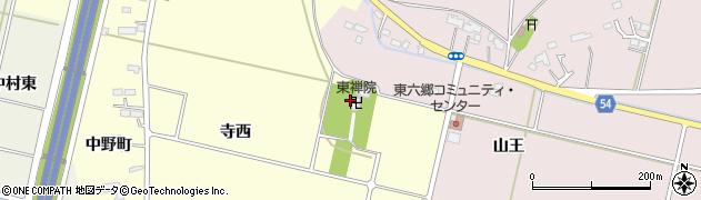 東禅院周辺の地図