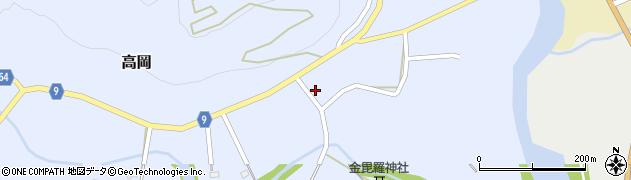 山形県西置賜郡白鷹町高岡2574周辺の地図