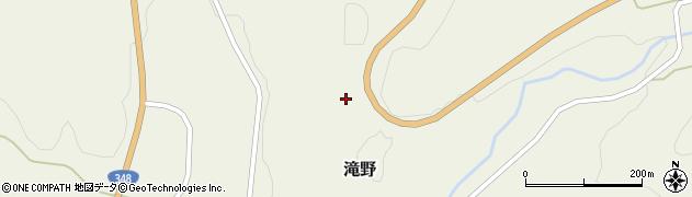 山形県西置賜郡白鷹町滝野東小手沢周辺の地図