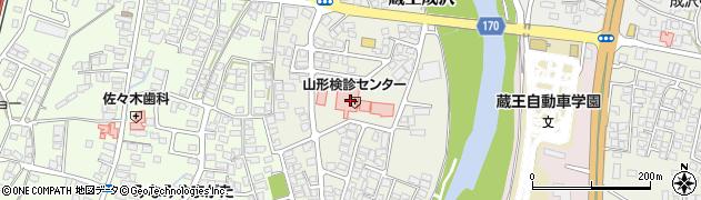山形県山形市蔵王成沢(向久保田)周辺の地図