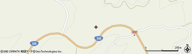 山形県西置賜郡白鷹町滝野細野周辺の地図