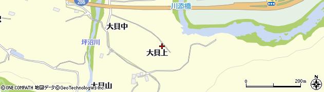 宮城県仙台市太白区坪沼(大貝上)周辺の地図