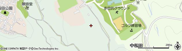 山形県山形市蔵王飯田周辺の地図