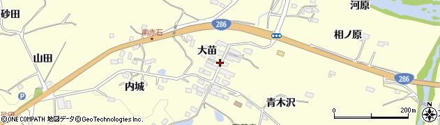宮城県仙台市太白区坪沼(大苗)周辺の地図