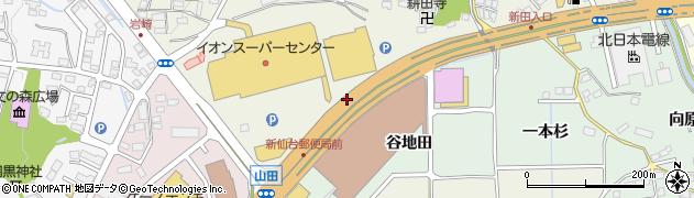 宮城県仙台市太白区鈎取(西根添)周辺の地図