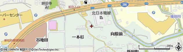 宮城県仙台市太白区鈎取(向原前)周辺の地図