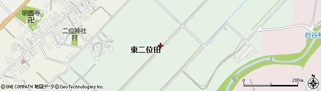 山形県山形市東二位田周辺の地図