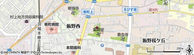 西宝院周辺の地図