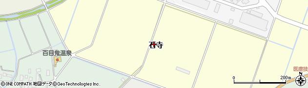 山形県山形市石寺周辺の地図