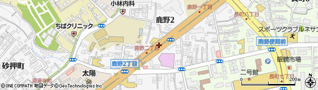 国道286号線周辺の地図