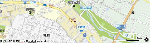 新潟県村上市上片町周辺の地図