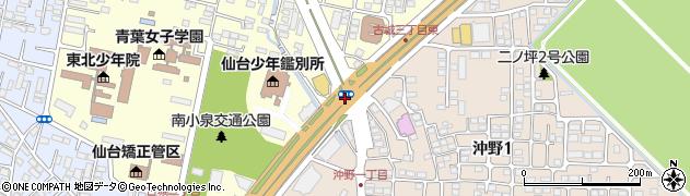 沖野1周辺の地図
