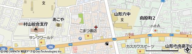 山形県山形市寿町周辺の地図