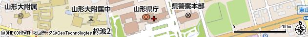 山形県周辺の地図