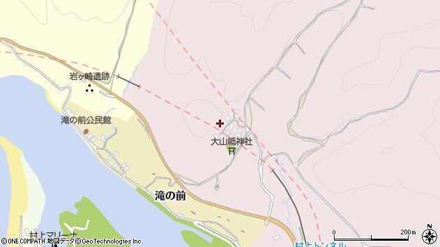〒958-0012 新潟県村上市大平の地図