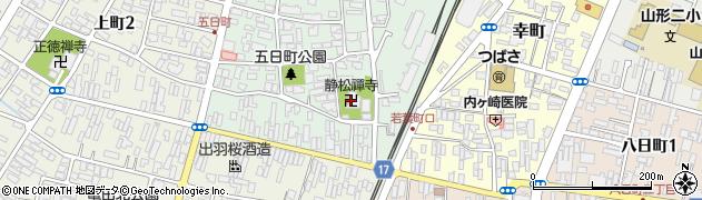 静松寺周辺の地図