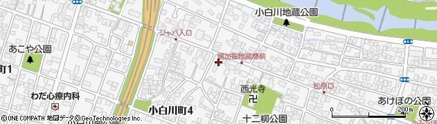 等覚院周辺の地図