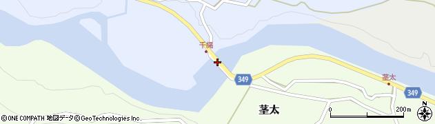 鷲見橋周辺の地図