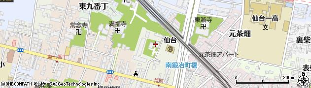 泰心院周辺の地図