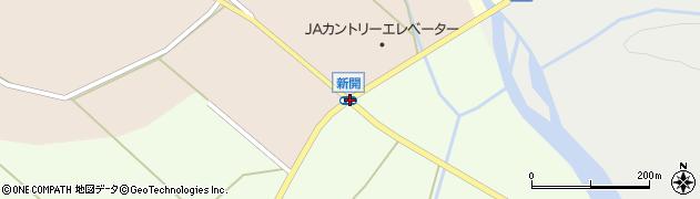 新開周辺の地図