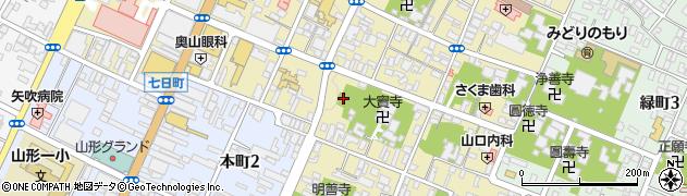 大竜寺周辺の地図