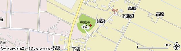 専能寺周辺の地図