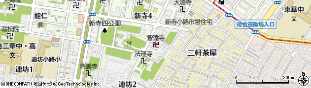 智遠寺周辺の地図