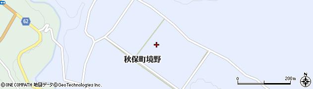 宮城県仙台市太白区秋保町境野(彦隅)周辺の地図