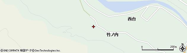 宮城県仙台市太白区秋保町長袋周辺の地図