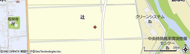 山形県山形市辻周辺の地図