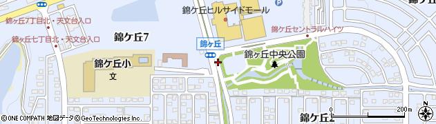 宮城県仙台市青葉区錦ケ丘周辺の地図