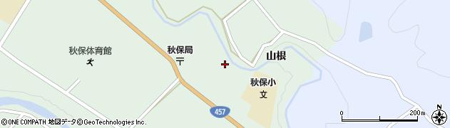 宮城県仙台市太白区秋保町長袋(町北裏)周辺の地図