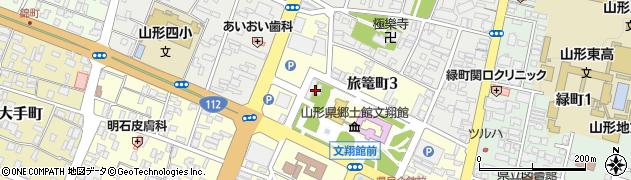 湯殿山神社周辺の地図