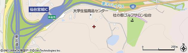 宮城県仙台市青葉区郷六(笹ノ上)周辺の地図