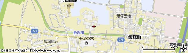 山形県山形市飯塚町周辺の地図