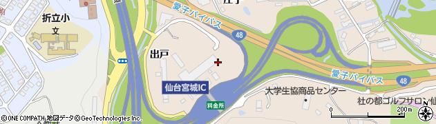宮城県仙台市青葉区郷六(庄子)周辺の地図