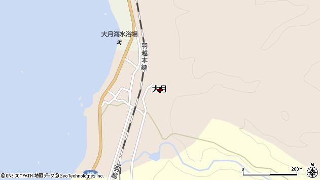 〒958-0007 新潟県村上市大月の地図