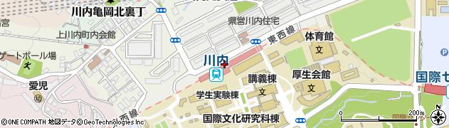 仙台市営バス 路線図