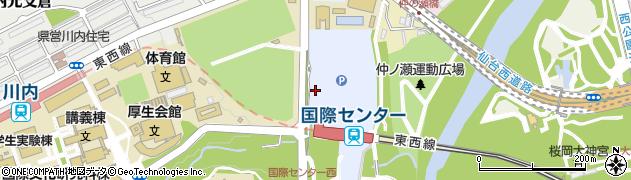 宮城県仙台市青葉区青葉山周辺の地図
